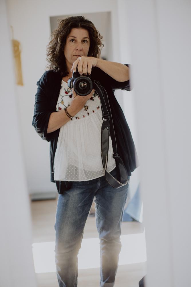 portrait de la photographe