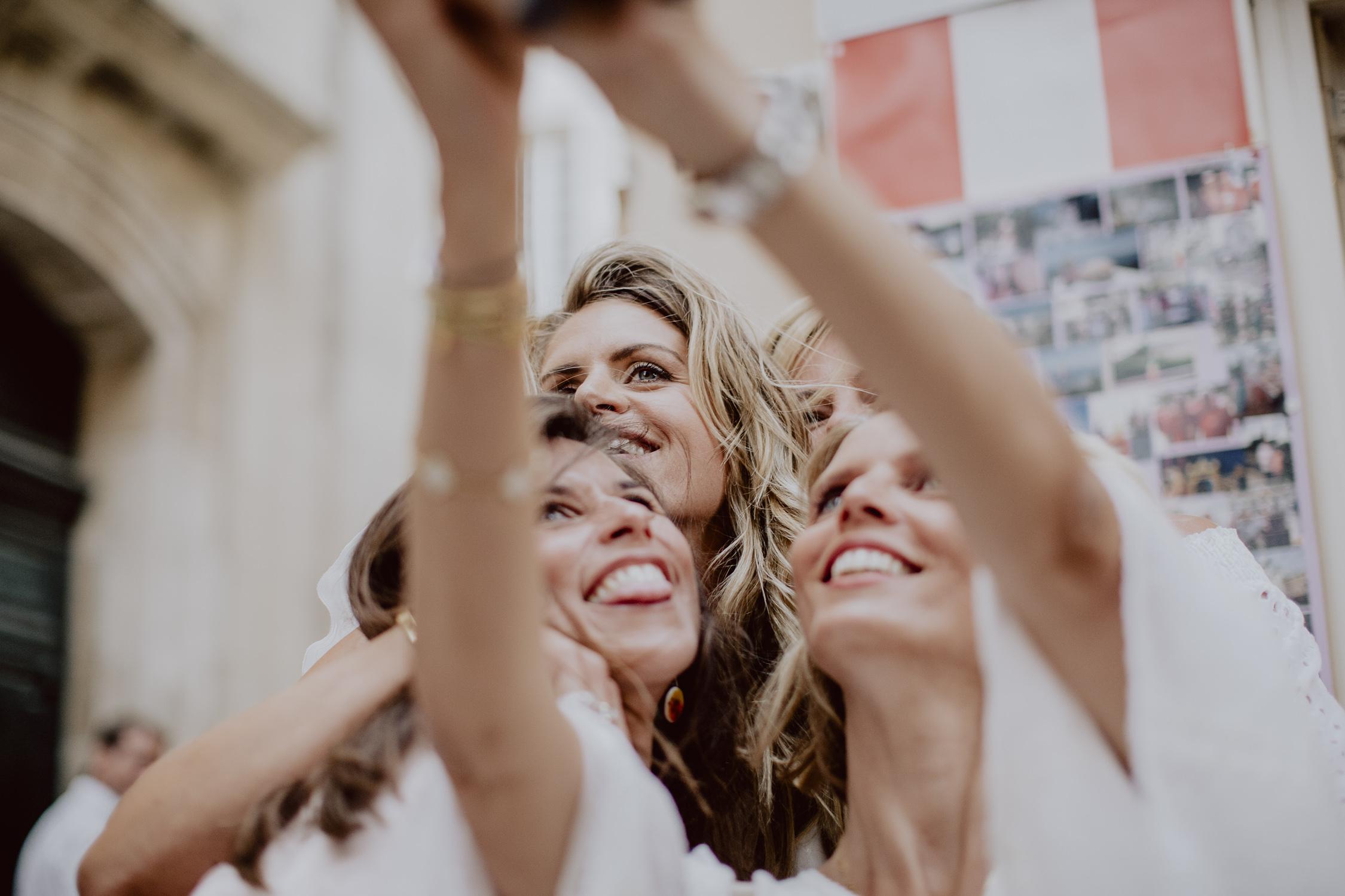 les amies de la mariée